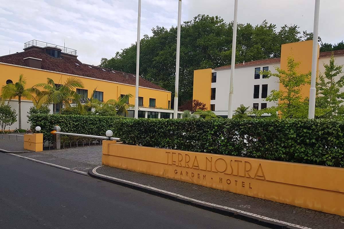 Terra Nostra Garden Hotel in Furnas Azores