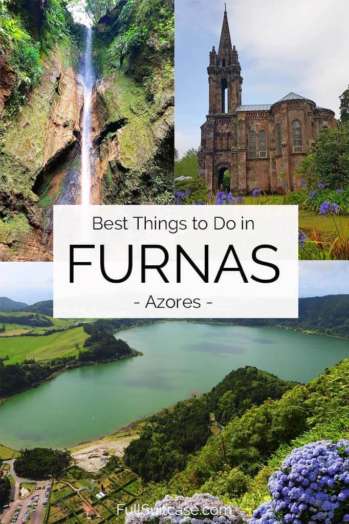 Things to see and do in Furnas Azores