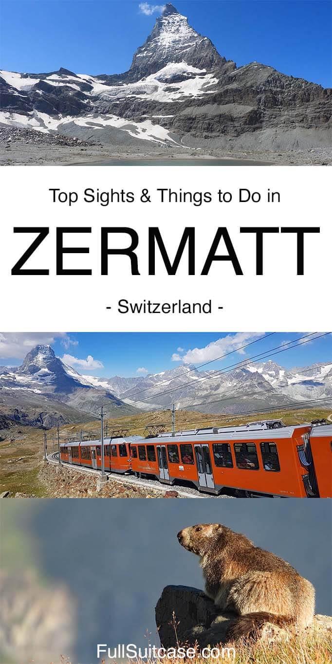 Best of Zermatt, Switzerland - top places to see and things to do in Zermatt