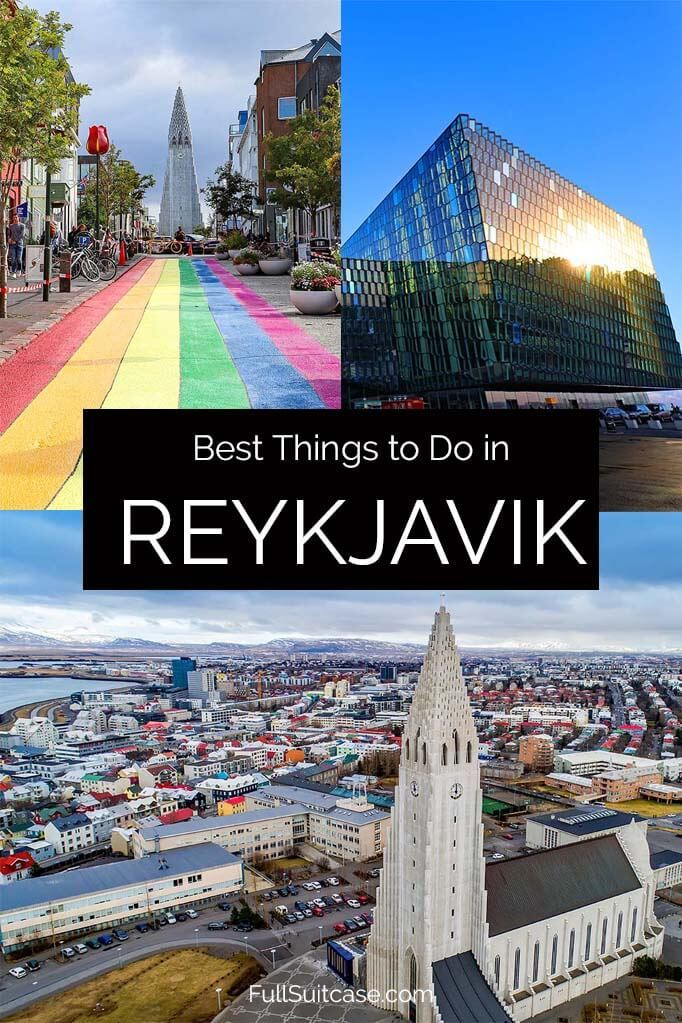 Best things to do and top tourist attractions in Reykjavik, Iceland