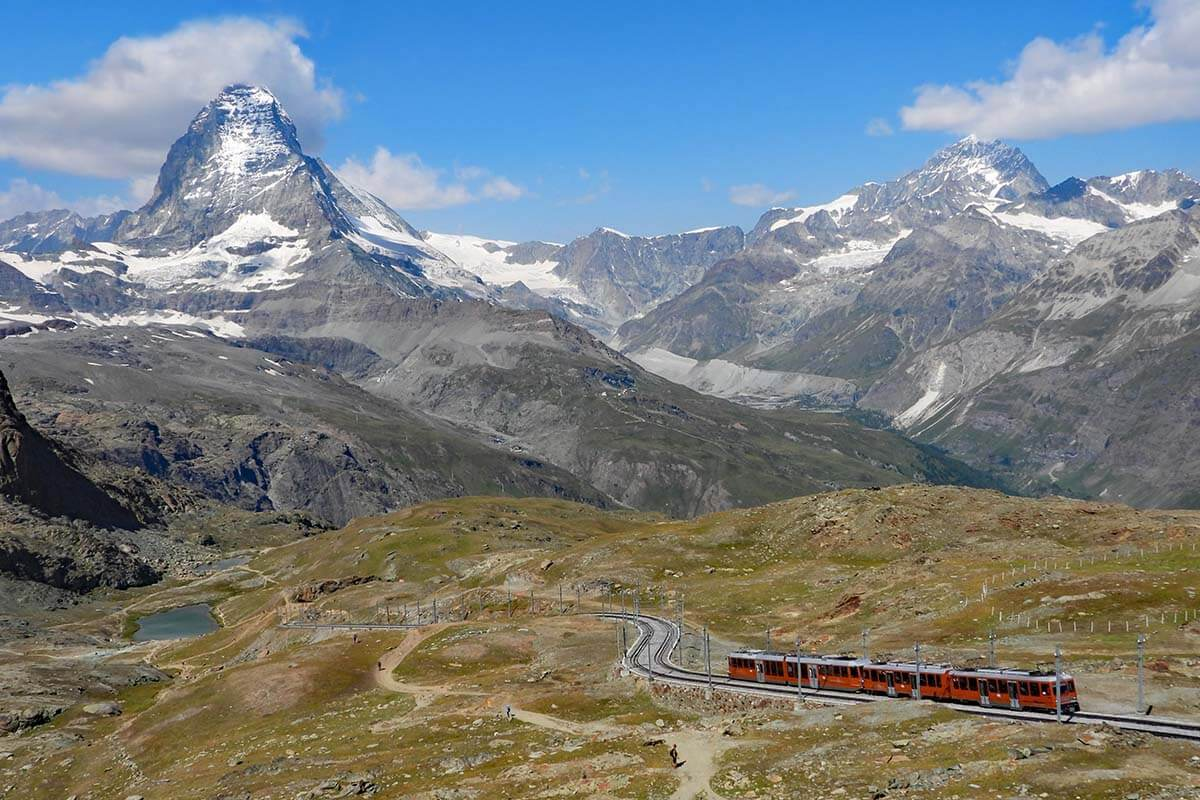 Best things to do in Zermatt - Gornergrat Railway