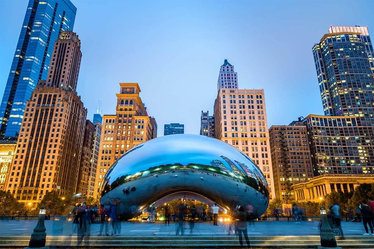 Chicago Bean (Cloud Gate)