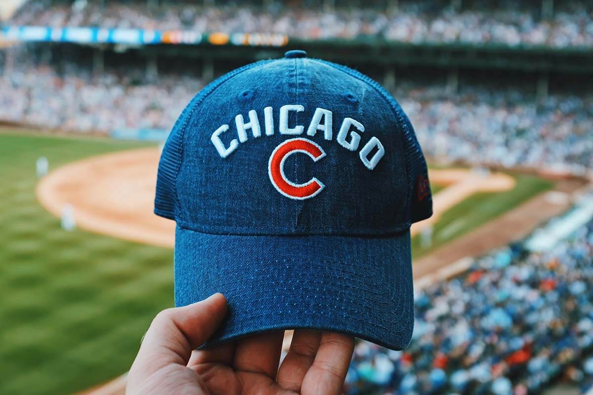 Chicago Cubs game at Wrigley Stadium