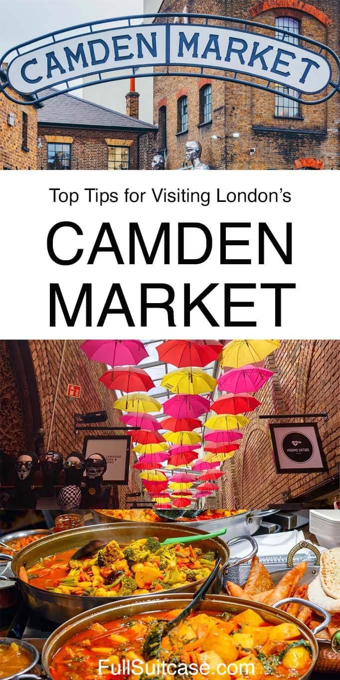Complete guide to visiting Camden Market (Camden Lock Market) in London