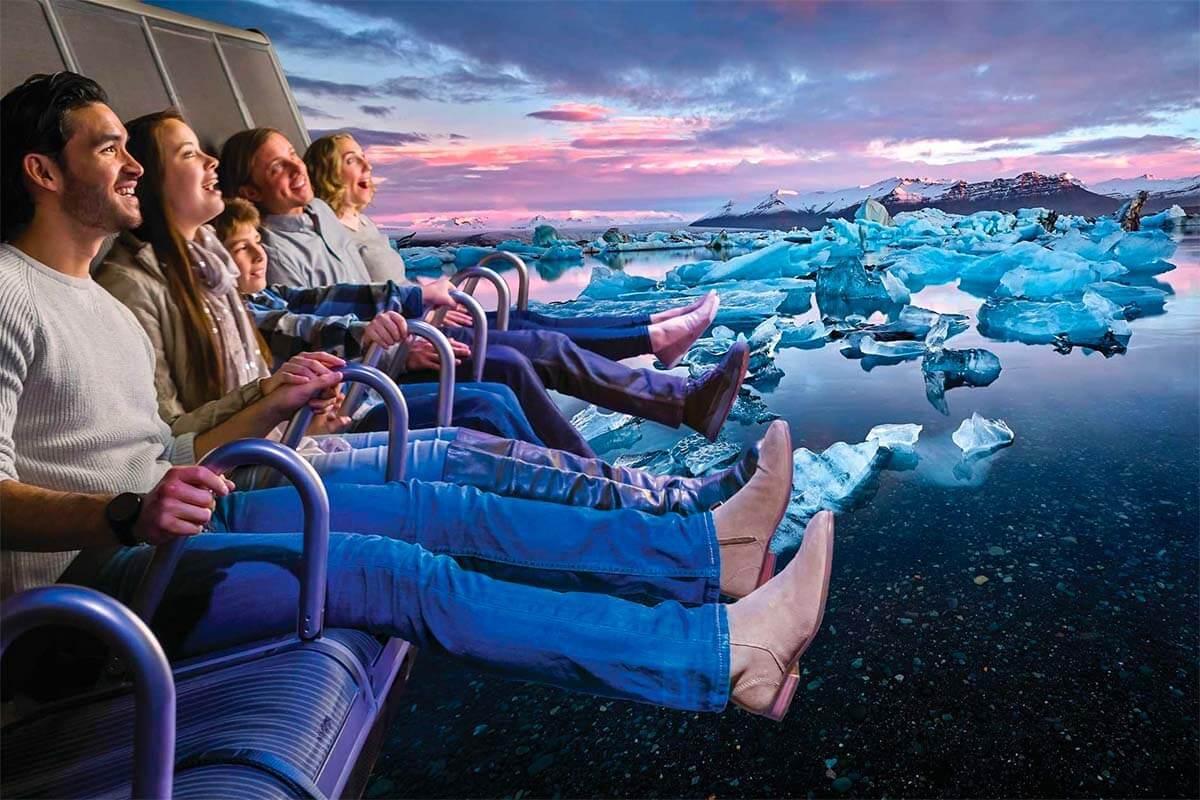 FlyOver Iceland attraction in Reykjavik
