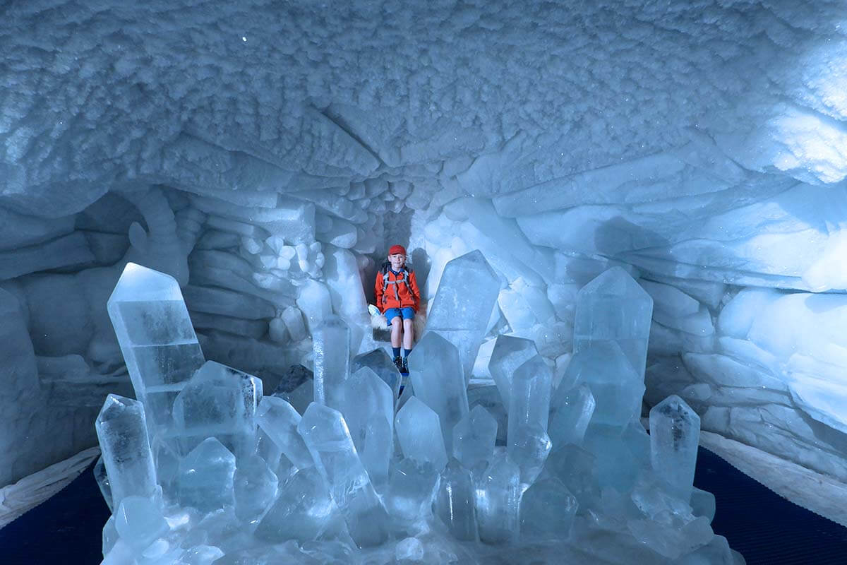 Glacier Palace is one of the coolest things to do in Zermatt