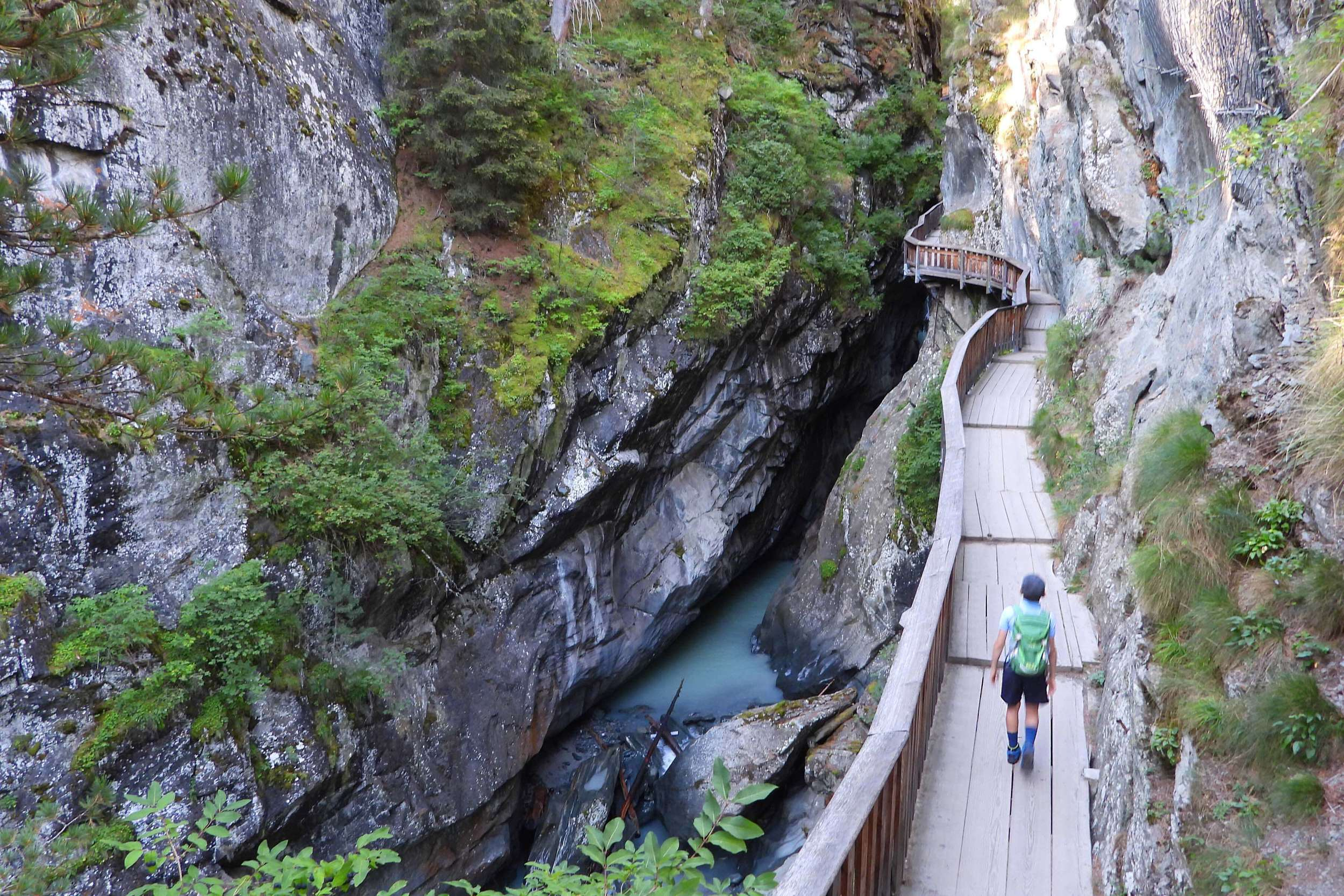Gorner Gorge is one of the nicest places to see in Zermatt