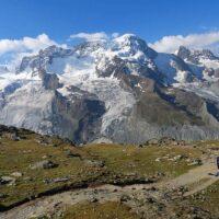 Gornergrat Scenic Trail hike 15 in Zermatt Switzerland