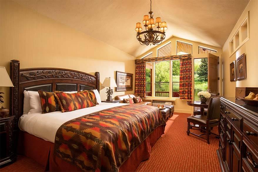 King Cabin at Rustic Inn Creekside Resort & Spa at Jackson Hole WY