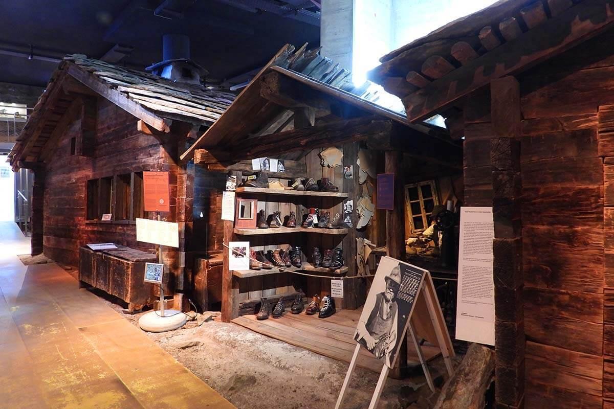 Matterhorn Museum Zermatlantis is must see in Zermatt Switzerland