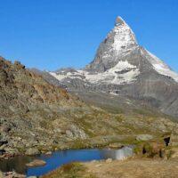 Riffelsee Lake Trail - Zermatt hike 21 in Switzerland