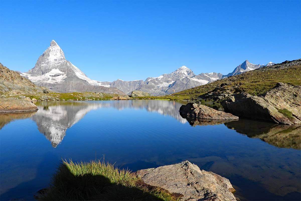 Riffelsee Matterhorn reflections, Zermatt Switzerland