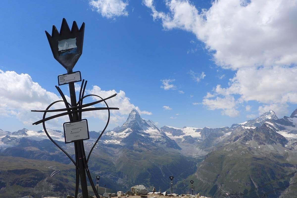 Rothorn Peak Collection in Zermatt Switzerland