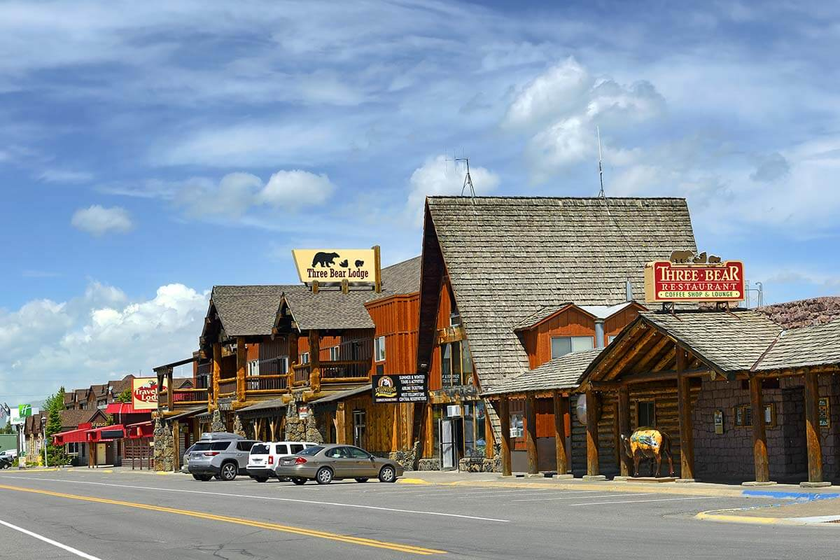 Three Bear Lodge and Restaurant in West Yellowstone - the best town to stay near Yellowstone National Park