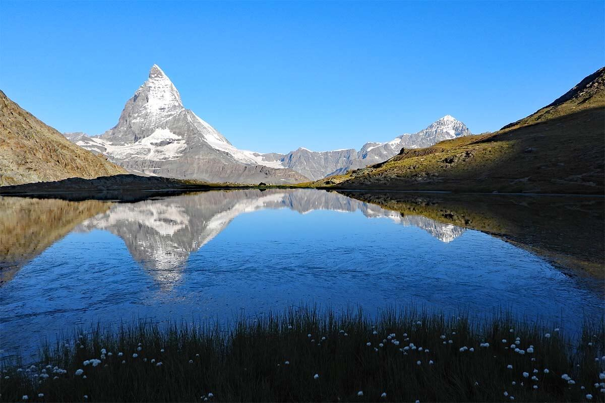 Top places to see in Zermatt - Riffelsee