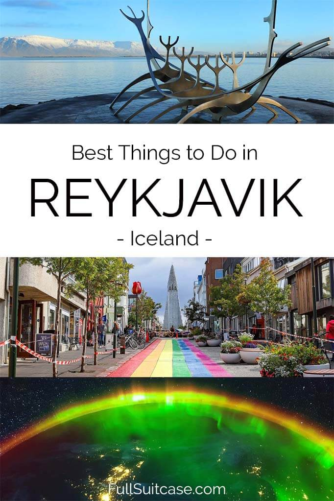 Top things to do in Reykjavik Iceland