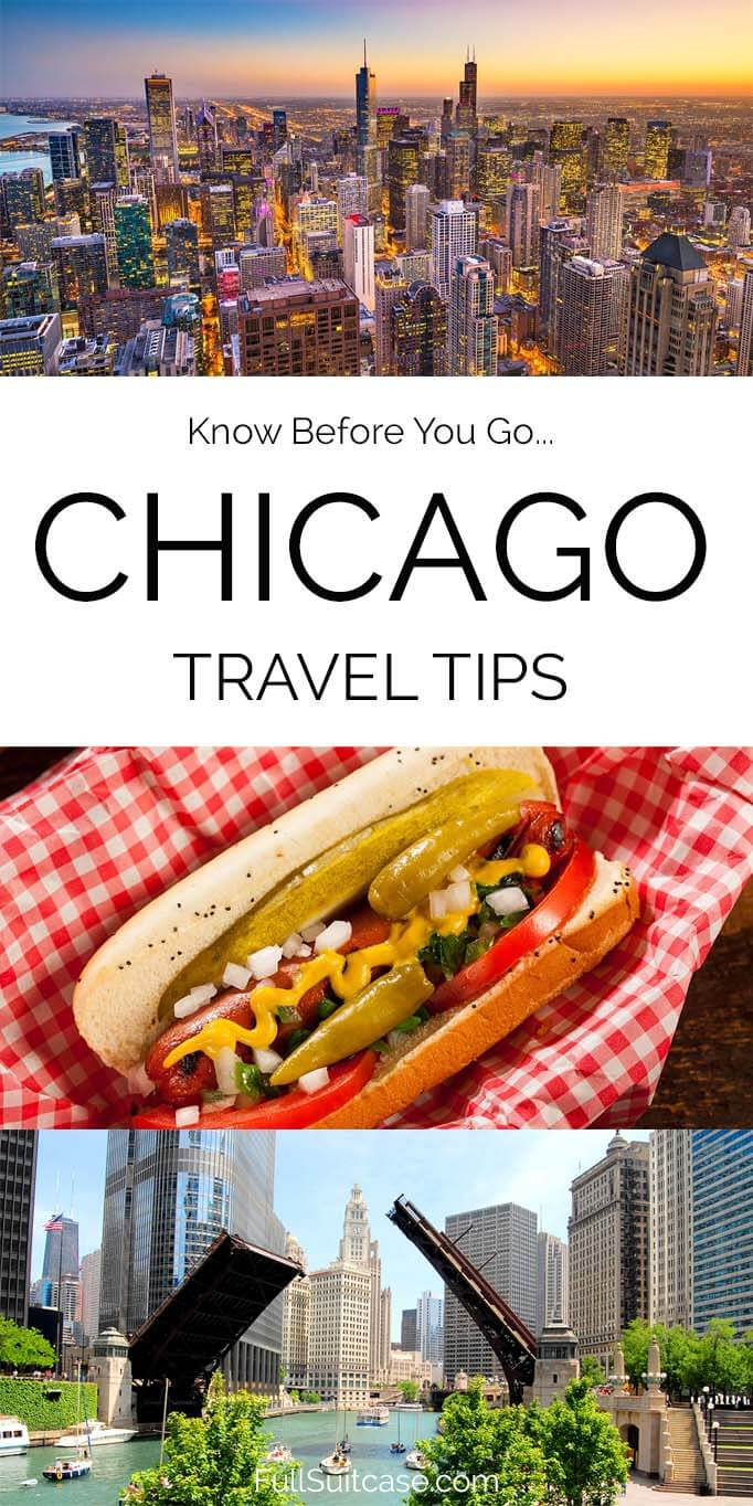 Traveling to Chicago for the first time - tips and info for your visit