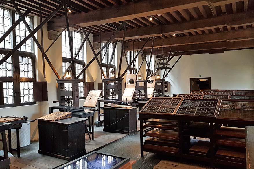 Best of Antwerp - Plantin Moretus Museum printing house