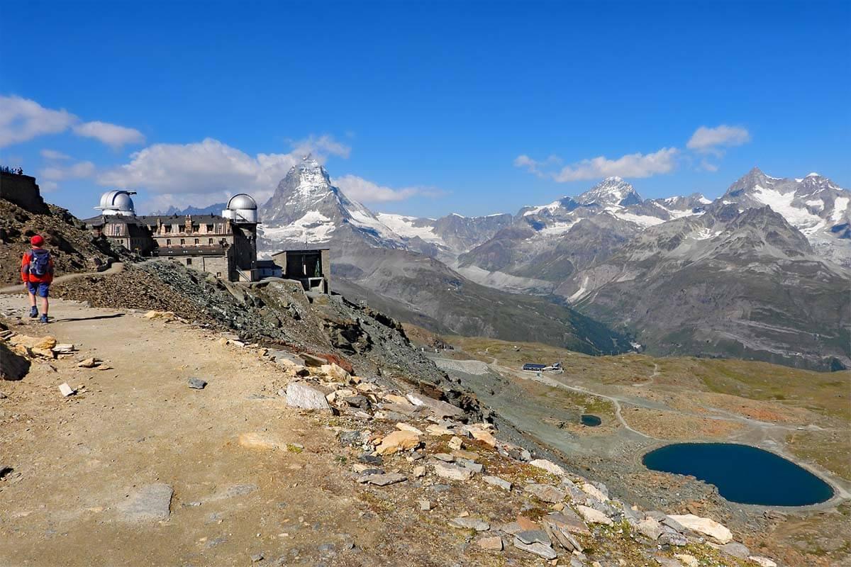 Gornergrat 360° scenic loop hike