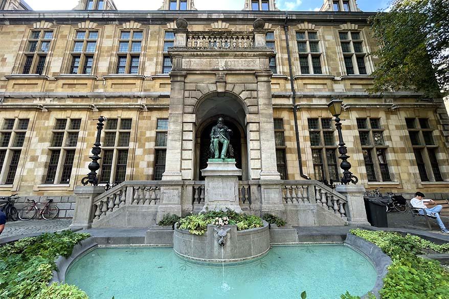 Hendrik Conscience Library in Antwerp Belgium