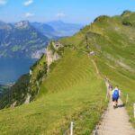 Stoos ridge hike Switzerland
