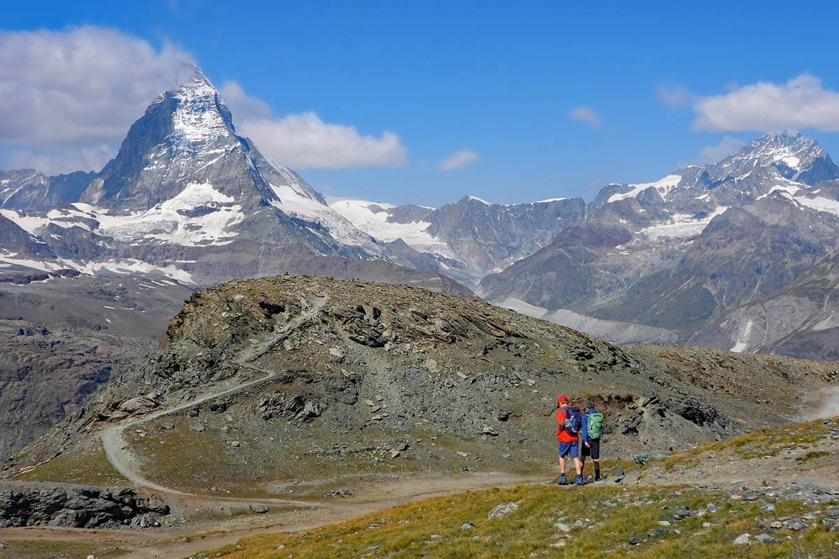 Top things to do in Gornergrat - hiking with a view of the Matterhorn
