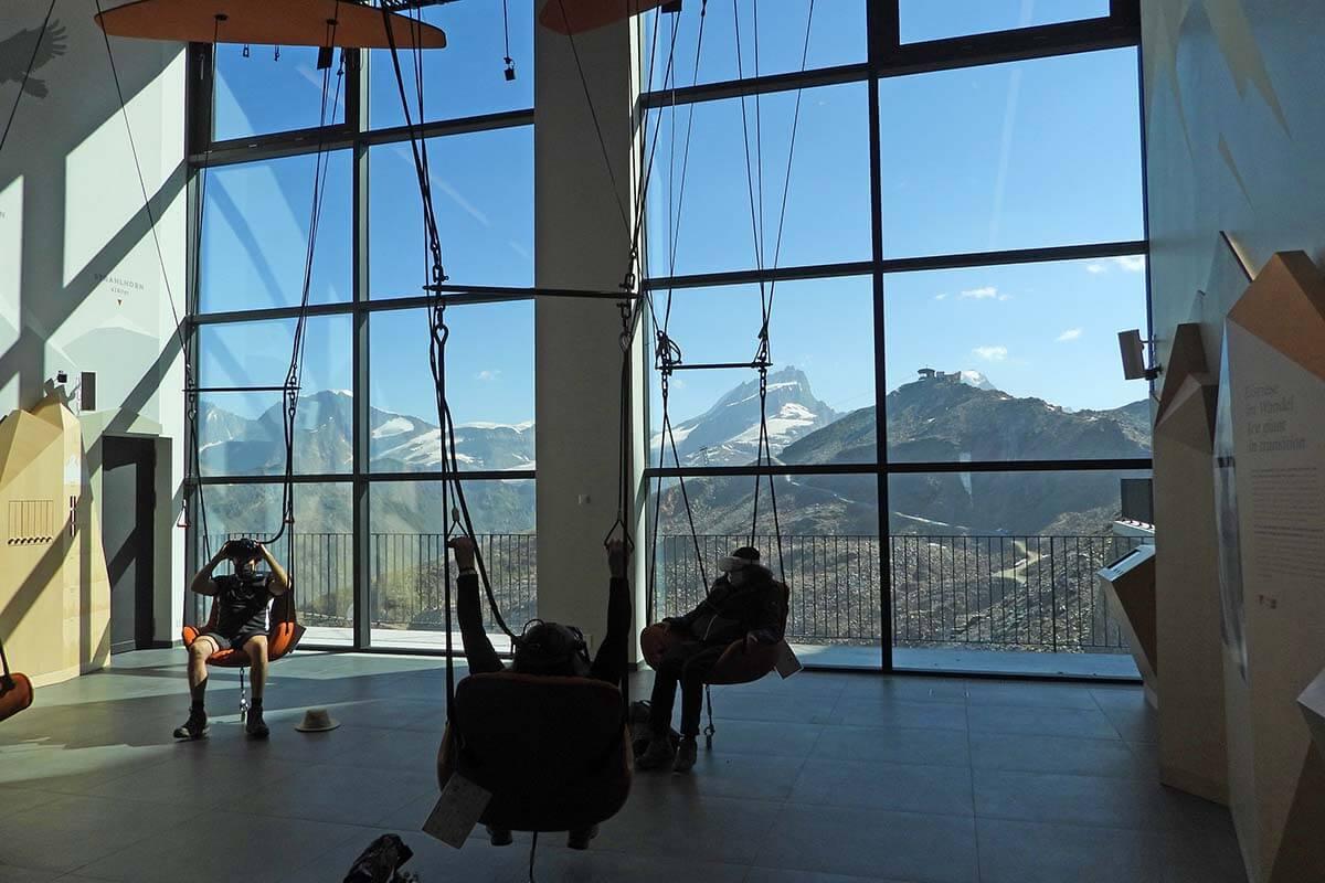 Zooom the Matterhorn is a new attraction at Gornergrat near Zermatt Switzerland